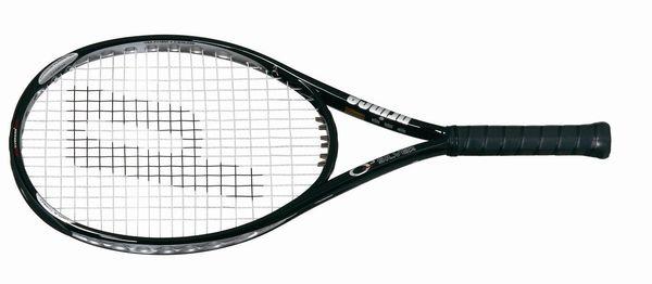 Prince O3 Silver OS Prestrung Tennis Racquet