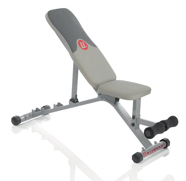 Universal Five-Position Weight Bench