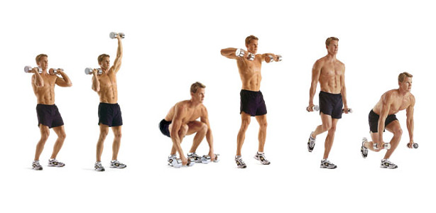 Mens Dumbbell Workout